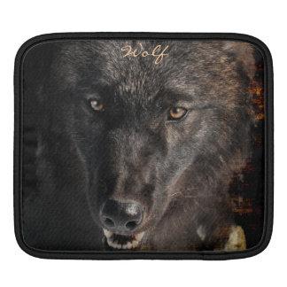 Alpha Male Wolf Face Wildlife iPad Sleeve