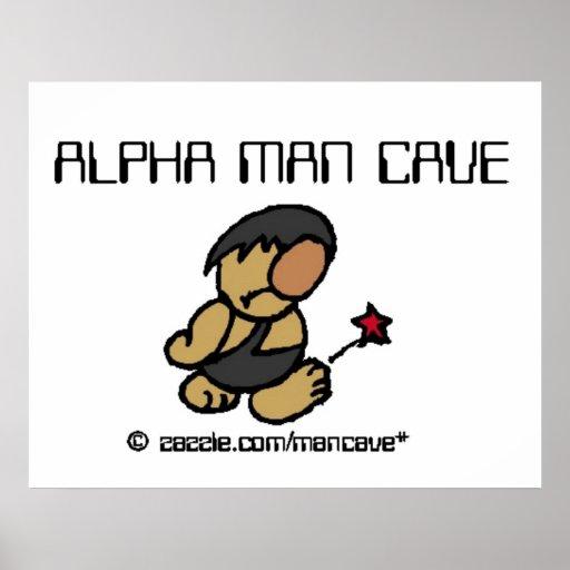 Alpha Man Cave Print