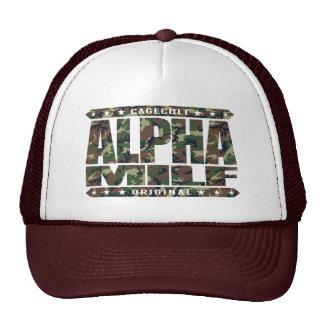 ALPHA MILF - Mom I Wouldn't Like To Fight, Camo Trucker Hat