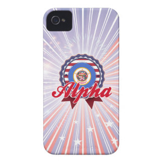Alpha MN iPhone 4 Covers