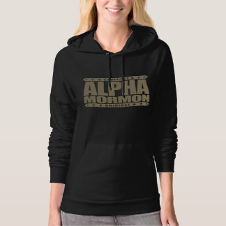 ALPHA MORMON - Church of Latter-day Saints, Gold Pullover