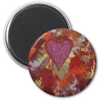Alpha omega 2 inch round magnet