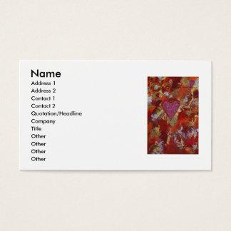 Alpha Omega 4 Business Card