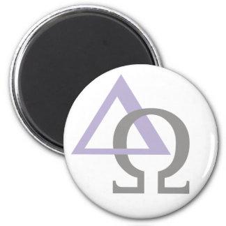 Alpha & Oméga 4 Lilas Gris Magnet