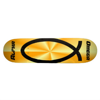 Alpha-Omega Board: Sunburst Skateboard