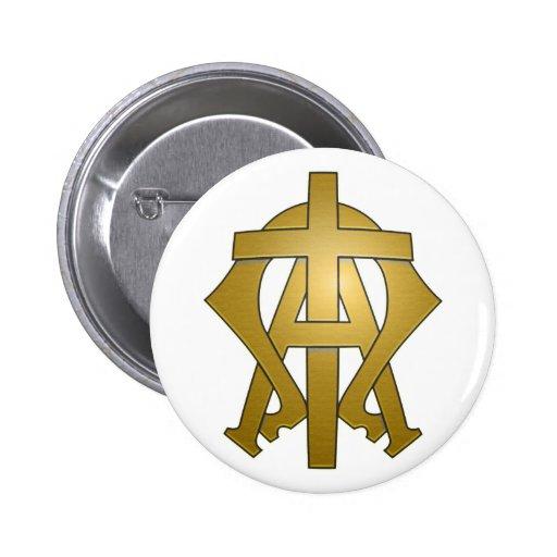 Alpha & Omega Button