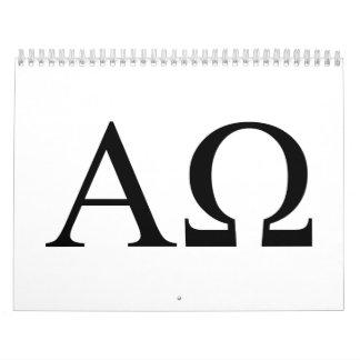 Alpha omega calendar