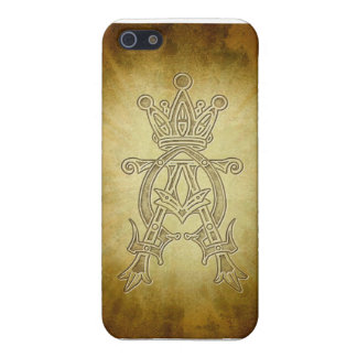 Alpha Omega King of Kings Design Case For iPhone SE/5/5s