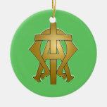 Alpha & Omega Ornament