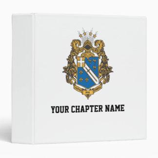 Alpha Phi Omega Color - Crest Binder