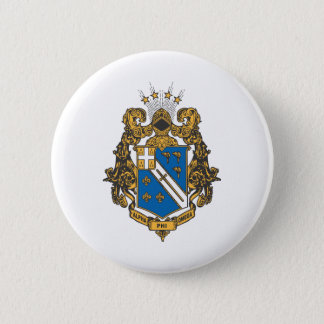 Alpha Phi Omega Color - Crest Button