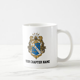 Alpha Phi Omega Color - Crest Coffee Mug