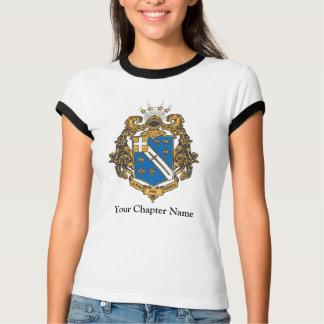 Alpha Phi Omega Color - Crest Tee Shirt