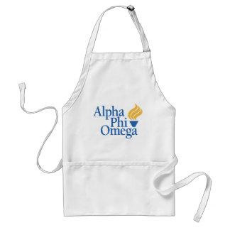 Alpha Phi Omega Color - Torch Adult Apron