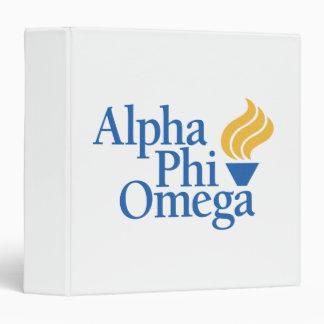 Alpha Phi Omega Color - Torch Binder