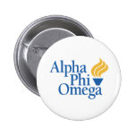 Alpha Phi Omega Color - Torch Button