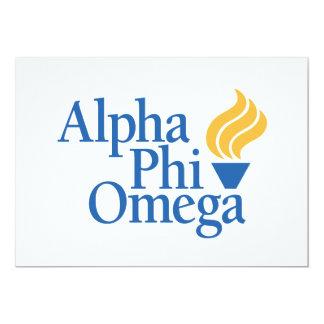 Alpha Phi Omega Color - Torch Card