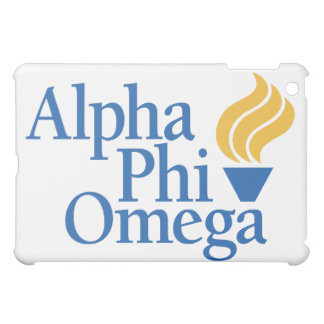 Alpha Phi Omega Color - Torch iPad Mini Cover