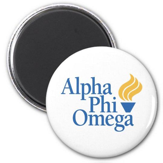 Alpha Phi Omega Color - Torch Magnet