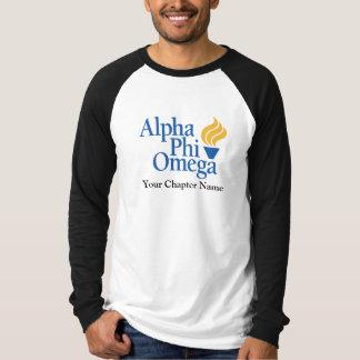 Alpha Phi Omega Color - Torch Tee Shirt