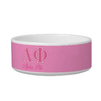 Alpha Phi Pink Letters Bowl