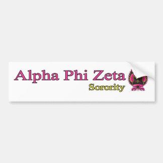 Alpha Phi Zeta Bumper Sticker