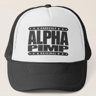 ALPHA PIMP - Silicon Valley Angel Investor, Black Trucker Hat