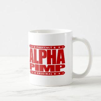 ALPHA PIMP - Silicon Valley Angel Investor, Red Coffee Mug