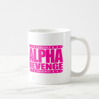 ALPHA REVENGE - My Success Is Best Payback, Pink Coffee Mug