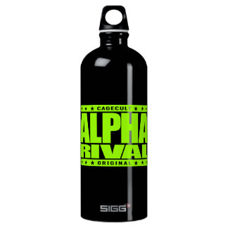 ALPHA RIVAL - I Am Your Nightmare Contender, Lime Water Bottle