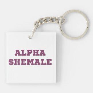 Alpha Shemale Keychain