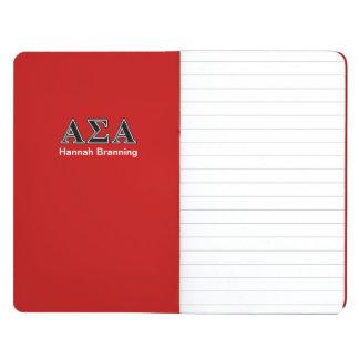 Alpha Sigma Alpha Black Letters Journal