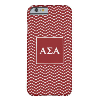 Alpha Sigma Alpha | Chevron Pattern Barely There iPhone 6 Case