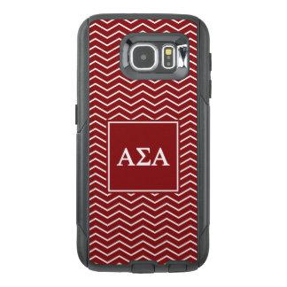 Alpha Sigma Alpha | Chevron Pattern OtterBox Samsung Galaxy S6 Case