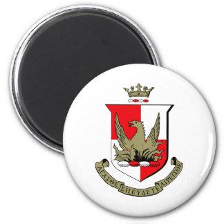 Alpha Sigma Alpha Crest 2 Inch Round Magnet