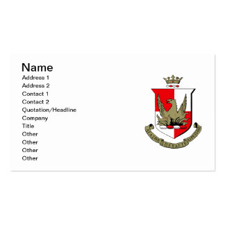 Alpha Sigma Alpha Crest Double-Sided Standard Business Cards (Pack Of 100)