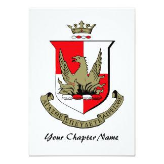 Alpha Sigma Alpha Crest Card
