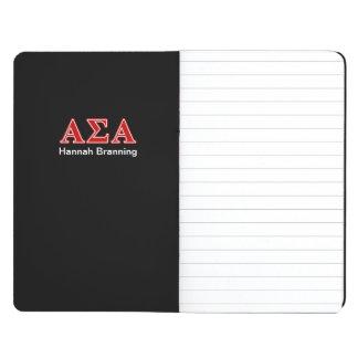 Alpha Sigma Alpha Red Letters Journals