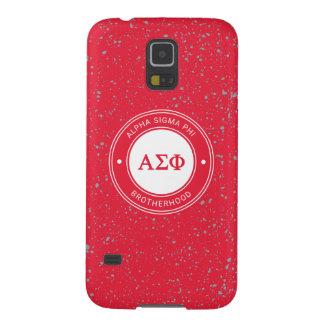 Alpha Sigma Phi | Badge Galaxy S5 Case