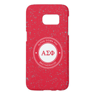 Alpha Sigma Phi | Badge Samsung Galaxy S7 Case