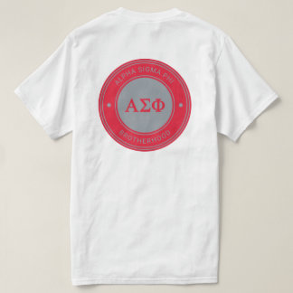 Alpha Sigma Phi | Badge T-Shirt