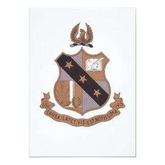 Alpha Sigma Phi Crest Personalized Invites