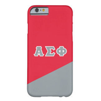 Alpha Sigma Phi | Greek Letters Barely There iPhone 6 Case