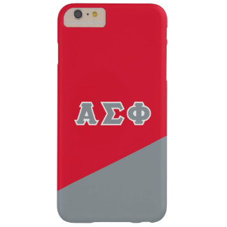 Alpha Sigma Phi | Greek Letters Barely There iPhone 6 Plus Case