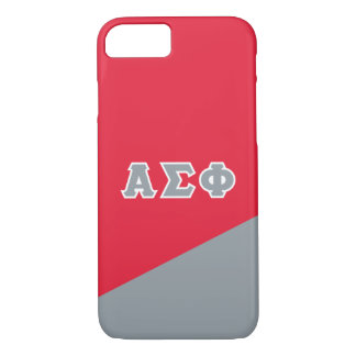 Alpha Sigma Phi   Greek Letters iPhone 7 Case