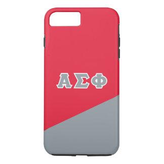 Alpha Sigma Phi   Greek Letters iPhone 7 Plus Case
