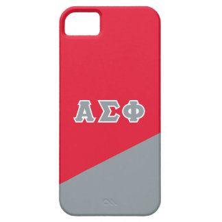 Alpha Sigma Phi   Greek Letters iPhone SE/5/5s Case
