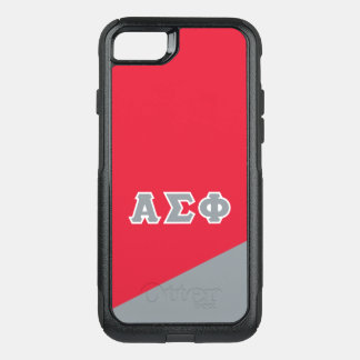 Alpha Sigma Phi   Greek Letters OtterBox Commuter iPhone 7 Case