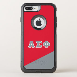 Alpha Sigma Phi | Greek Letters OtterBox Commuter iPhone 7 Plus Case