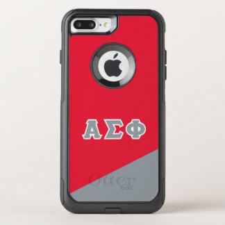 Alpha Sigma Phi   Greek Letters OtterBox Commuter iPhone 8 Plus/7 Plus Case